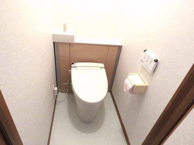 キャビネット付きトイレ「リフォレ」で使いやすいトイレに変わりました