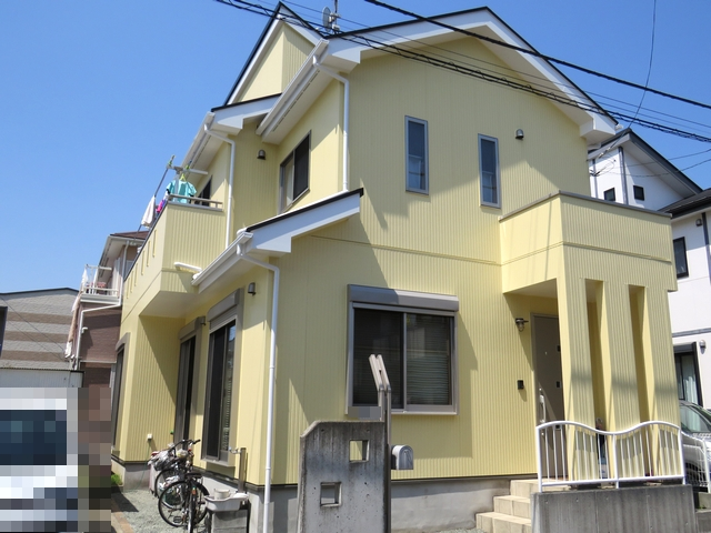 外壁・屋根・バルコニー・玄関前手摺り等の塗装工事